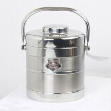 China Manufacturer Stainless Steel Lunch Box With Compartment
