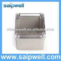 2012 IP67 waterproof plastic/aluminum enclosure box