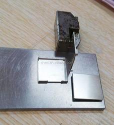 Nickel silver shielding cover
