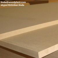 9mm thickness 830kg per CBM 1220mm 2440mm high-density fiberboard E1 grade cheap factory price plain HDF board