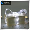el festival y la decoración de navidad de regalo de embalaje de led de cobre alambre de la cinta de luz