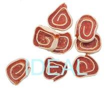 dried dog treats chicken and cod rolls pet snacks
