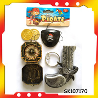 pirate rings plastic pirate eye patch with EN71