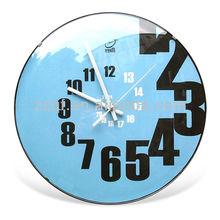 modern design fancy wall clock plastic