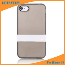 LETSVIEW Top Rated Hot Wholesale Bulk Order Lowest Price Soft TPU Flexible Back Cover Shell for Iphone 4 Protective Phone Bags