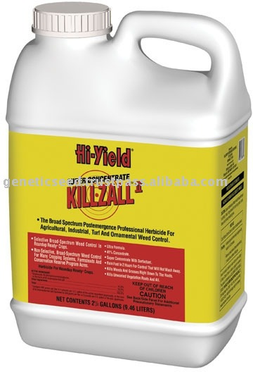 how to fix grass killed by roundup