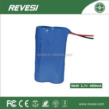 Revesi professionale ricaricabile 4500 3.7v batteria al litio mah