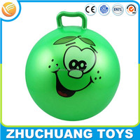 cheap china wholesale toys pvc handle bouncy ball for kids