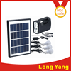 2015 new product portable solar light system 5W solar panel , 4AH battery 3W led light