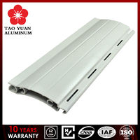 European designed Aluminum extrusion profile slat for Roller/Rolling shutter window and door