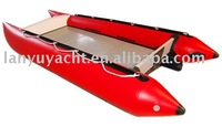 inflatable speed boat/ sports boat/ catamaran