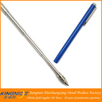 New model stainless steel telescoping ball pen