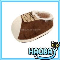 China dog products manufacturer shoes shape dog house & cat bed