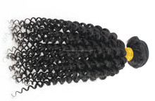 "cheap distributor 18"" 1b kinky virgin hair weave for black men"