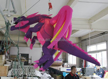 2015 new brand giant hanging inflatable dragon for outdoor advertising