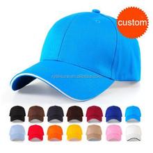 custom brand logo company name cotton baseball cap