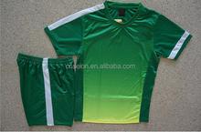 Customed Blank Training Soccer Jersey Short Kit