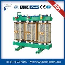 H class 6kv 800kva dry epoxy cast resin transformer