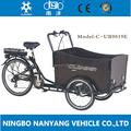 36 V voltaje y certificación CE carga adultos bicicleta de tres ruedas de China