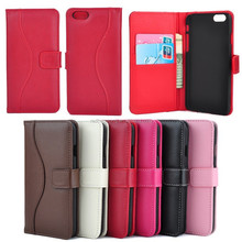 High quality top layer leather genuine leather phone case for iphone 6
