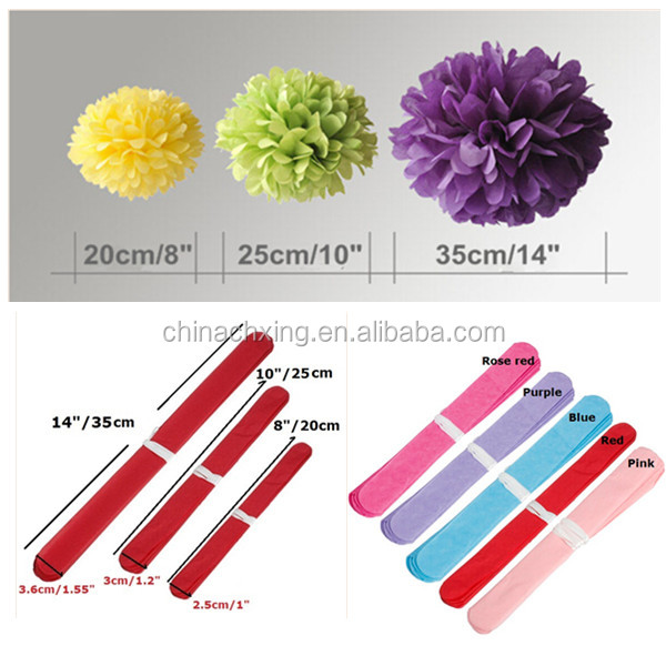 8inch 20cmdifferent colors tissue paper flower pattern for wedding qq20140619154337600g 1g mightylinksfo