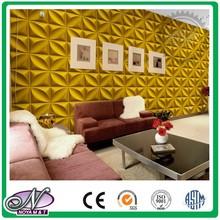 Wholesale golden fashion 3d wall decor