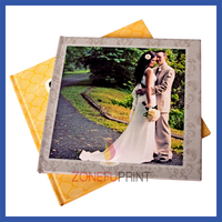 Quality Custom Wedding Guest Invitation Card Book Printing