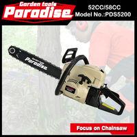Unique design Gasoline chainsaw 5200 with CE GS