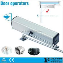 Swing door operator for automatic hospital door