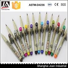 Best popular 12 pcs soft head drawing color pen