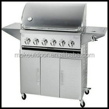 outdoor cooking weber smoke free gas grill stainless steel gas bbq grill