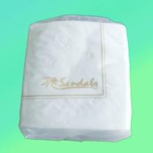 de luxe pourpre boisson de pliage de serviette de papier tissu