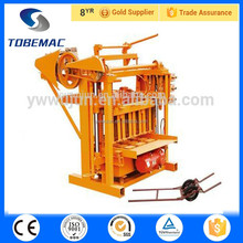 2015 TOBEMAC QMJ4-45 Clay Block making machine hollow cement block making machine concrete Brick Making Machine