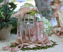 2015 Wedding birdcage, Metal birdcage for wedding decoration birdcage tea light