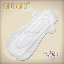 Maxi odor control soft cotton 250mm sanitary pad for day