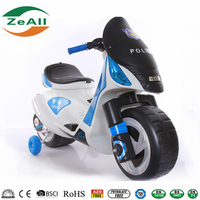 Large seat Wide Wheel Ride On Toy Motorbike electric motorbike, Three Wheels Electric Motor Kids Motorbike Tri-sctooer