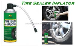 tire sealer inflator spray tyre repair spray, tire sealant and inflator 400ML/500ML free sample
