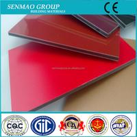 5mm alucobond aluminum composite panel in dubai/China factory price