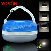 ABS 5 Modes AAA Dry Battery LED Camping Light