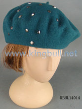 Accesorios de Invierno para Mujeres Boina Sombrero de Lana a la Moda