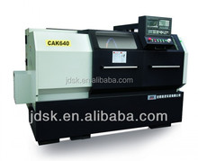 HIGH PRECISIONS HORIZONTAL CNC LATHE MACHINE for grinding attachment and macking power tools with tailstock CAK640