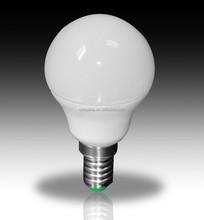2015 hot sale G45 E14 LED bulb lamp 7w spot light