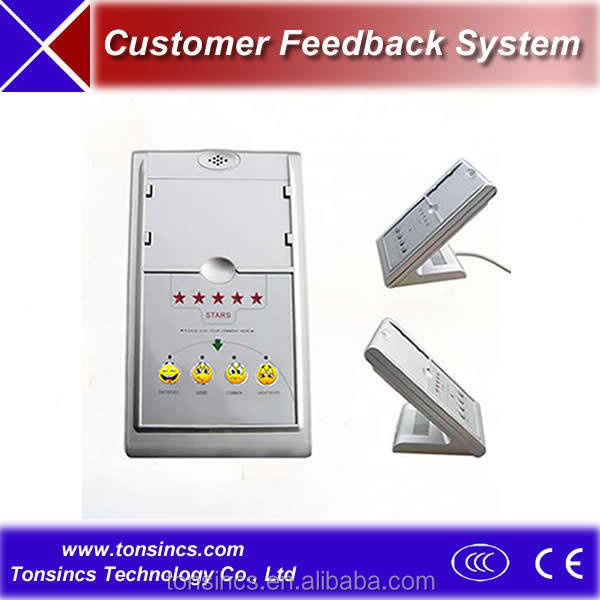 customer feedback system Login name: password: site developed & maintained.