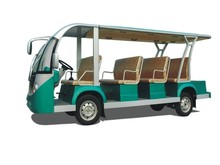 8 +3 seaters electric shuttle bus, personnel carrier