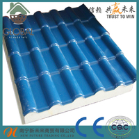 pvc asa plastic corrgulated roof tile for sale
