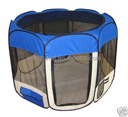 Blue Dog Cat Tent Puppy Playpen Exercise Pen XS