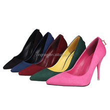Fashion Design Sexy Elegant Female Pointed Toe High Heels Women Platform Pumps High Quality Party Dress Shoes