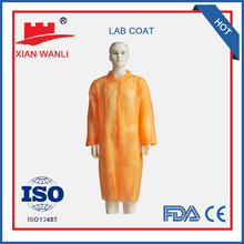 Fine quality Marketable products china sales Nonwoven disposable lab coat
