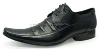 Gentlemen trendy pointed fashionable china whlesale fancy leather men dress shoes