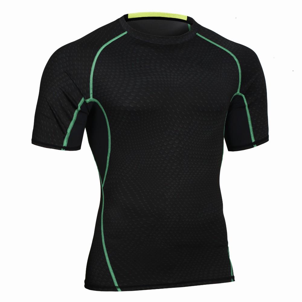 Custom Fitness Apparel Men's GYM Sport T Shirt Factory 10